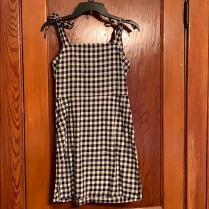 Express Gingham Sundress with Pockets